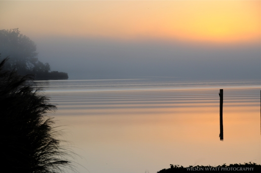 "November Reflection, from ""Chesapeake Views - Catching the Light"" - click on image for a larger view"