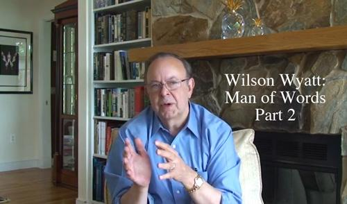 Wilson Wyatt Interviewed - The Talbot Spy