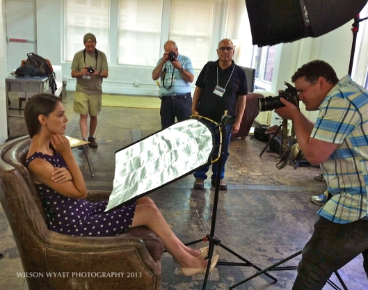 Nikon Mentor Lucas Gilman photographing model Rachel M. Woods