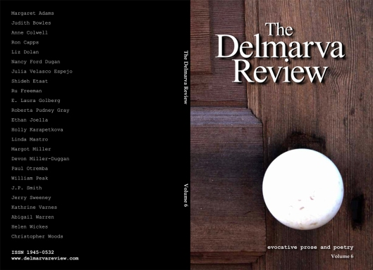 The Delmarva Review, Volume 6 - print and digital editions