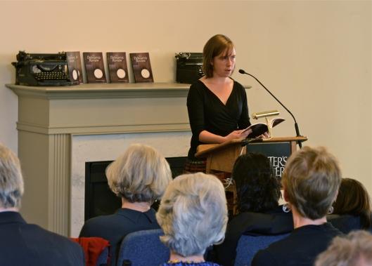 "Fiction author Margaret Adams reading ""Undertow"""