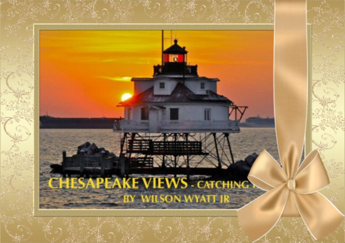 Chesapeake Views - Catching the Light, book cover