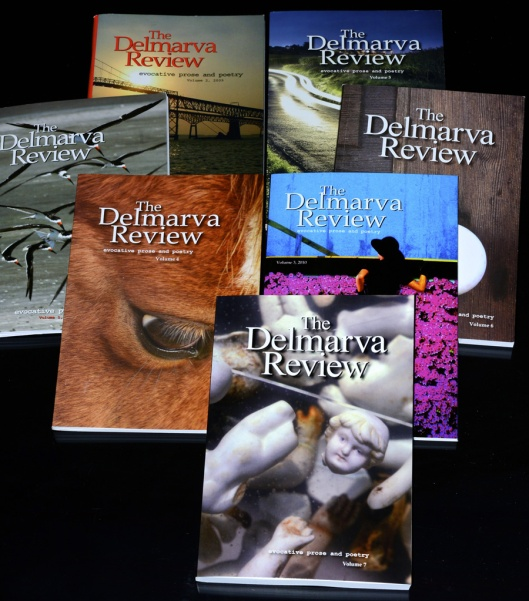 Covers of The Delmarva Review