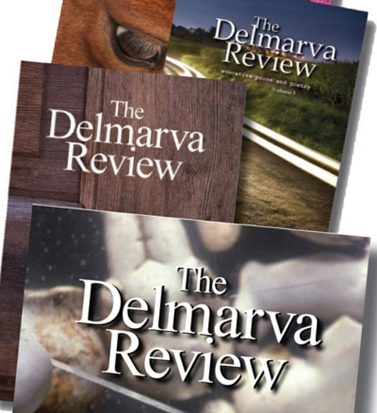 Covers -The Delmarva Review, a literary journal