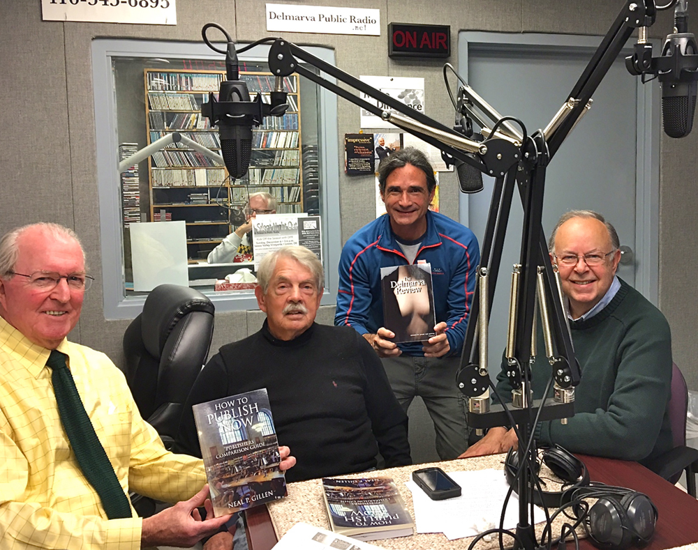 "Taping ""How to Publish Your Book"" at Delmarva Public Radio"