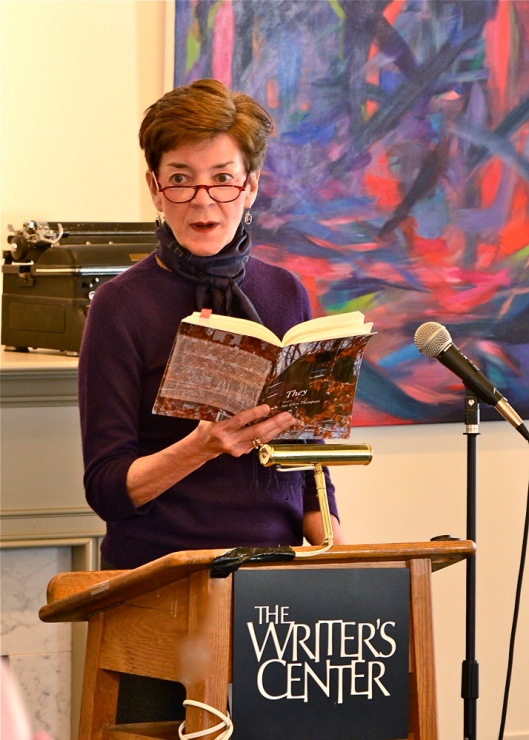 Poet Sue Ellen Thompson reads from her celebrated book They, as the featured poet in The Delmarva Review, Volume 8.