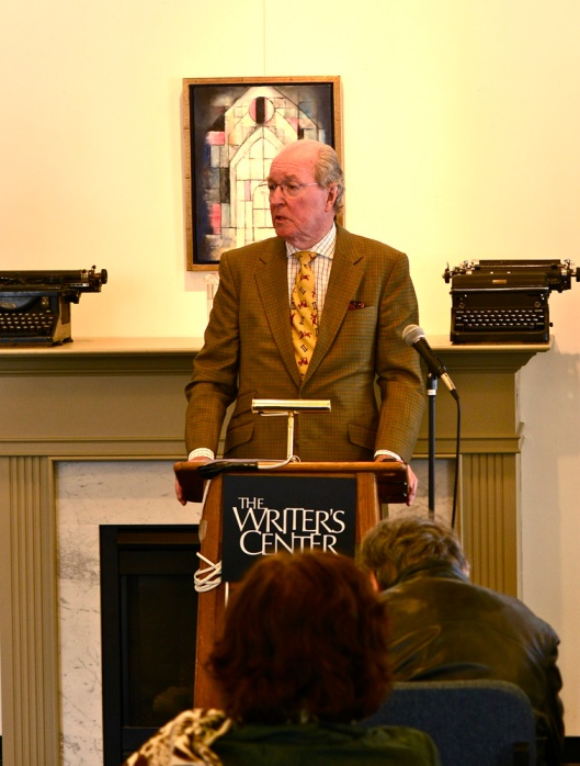 "Novelist Neal Gillen reads from his memoir, ""Northwest to Huguenot,"" in The Delmarva Review. Mr. Gillen is from Potomac, Maryland."
